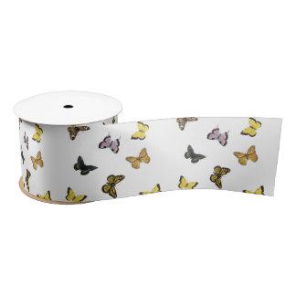 Butterflies Satin Ribbon