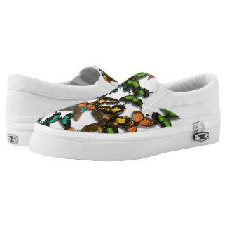 Butterflies Slip On Shoes