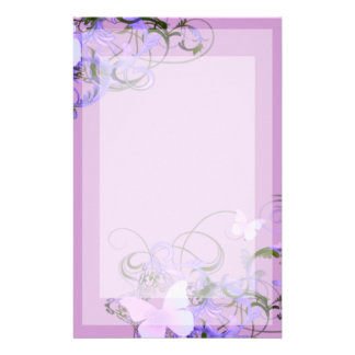 Butterflies Stationery