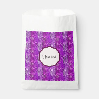 Butterflies & Swirls Favour Bags