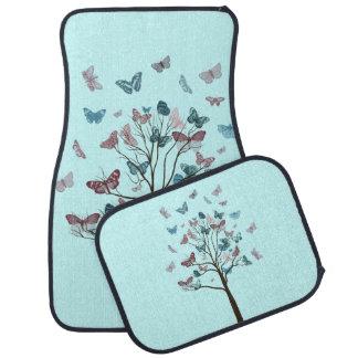 Butterflies Tree Car Mat