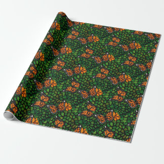 butterflies wrapping paper