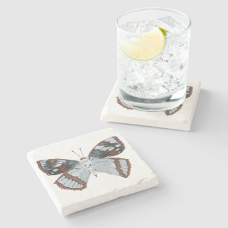Butterfly10 Stone Coaster