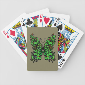 Butterfly 1 bicycle playing cards