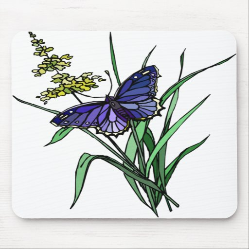 Butterfly 6 mouse pad