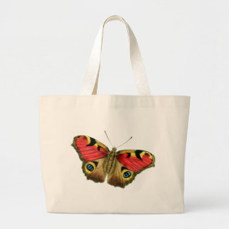 butterfly-9-eop large tote bag