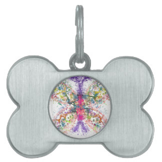 Butterfly Anatomy Pet Tag