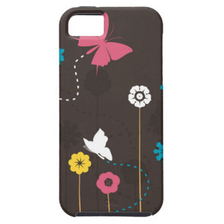 Butterfly and a flower3 case for the iPhone 5