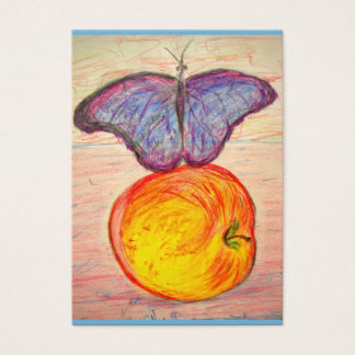 Butterfly and Apple Business Card