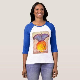 Butterfly and Apple live today butterfly T-Shirt