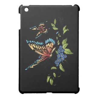 Butterfly and Butterflies full color by Al Rio iPad Mini Covers