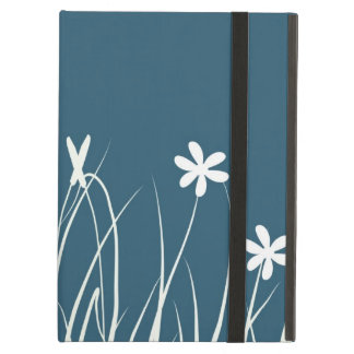 Butterfly and flower meadow.  Graphic art iPad Air Cover