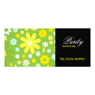 Butterfly and Flowers Rack Card Gift Certificate