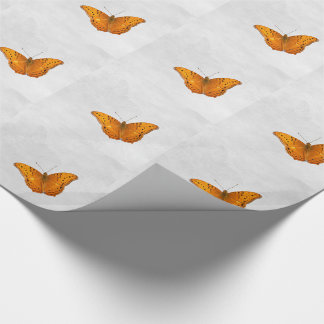 Butterfly and ghost tiled paper