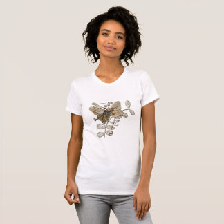Butterfly And Key T-Shirt