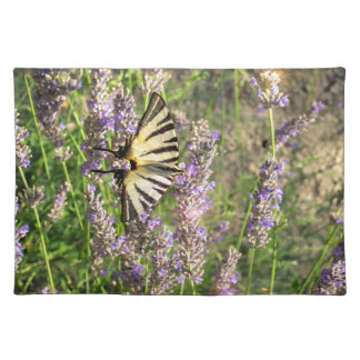 Butterfly and Lavender Placemat