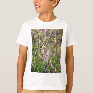 Butterfly and Lavender T-Shirt