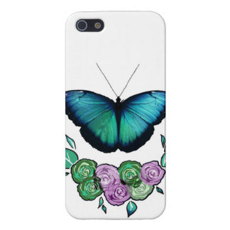Butterfly and Roses iPhone 5 Case