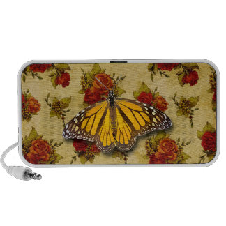 BUTTERFLY AND ROSES iPhone SPEAKERS