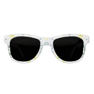 Butterfly and White Lily Sunglasses