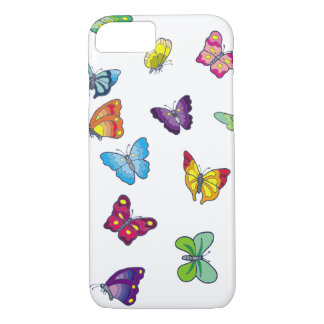 butterfly Apple iPhone 8/7, Barely  Phone Case