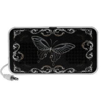 Butterfly Art 15B Doodle Mini Speakers