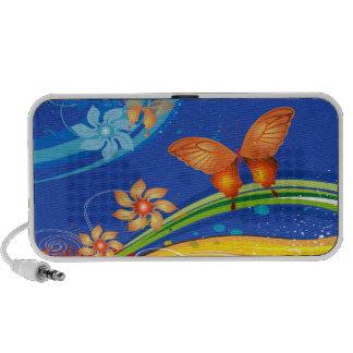 Butterfly Art 19 Doodle iPod Speaker