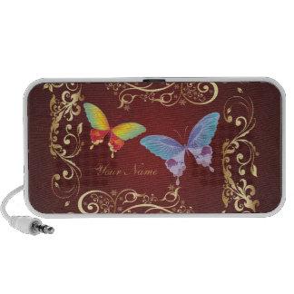 Butterfly Art 1 Doodle Notebook Speaker