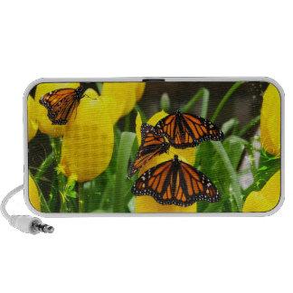 Butterfly Art 22 Doodle iPhone Speaker