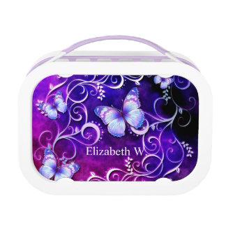 Butterfly Art 3 Lunch Box