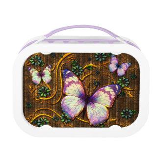 Butterfly Art 6 lunch Box