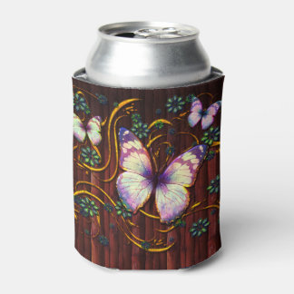 Butterfly Art 6 Options Can Cooler