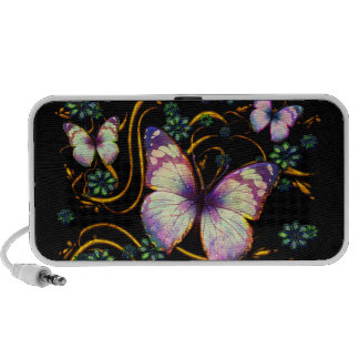 Butterfly Art 6B Doodle Travelling Speakers