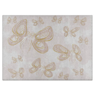 Butterfly Art Cutting Board