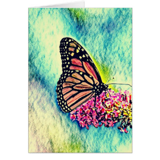 Butterfly Art Notecard