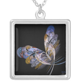 Butterfly at Night Necklace