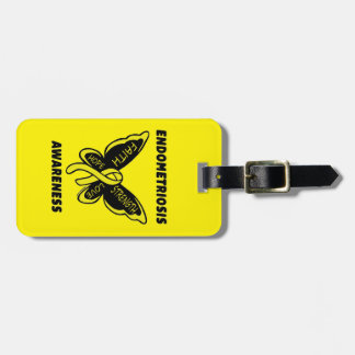 Butterfly/Awareness...Endometriosis Luggage Tag