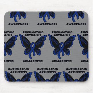 Butterfly/Awareness...Rheumatoid Arthritis Mouse Pad