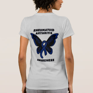 Butterfly/Awareness...Rheumatoid Arthritis T-Shirt