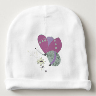 butterfly baby beanie