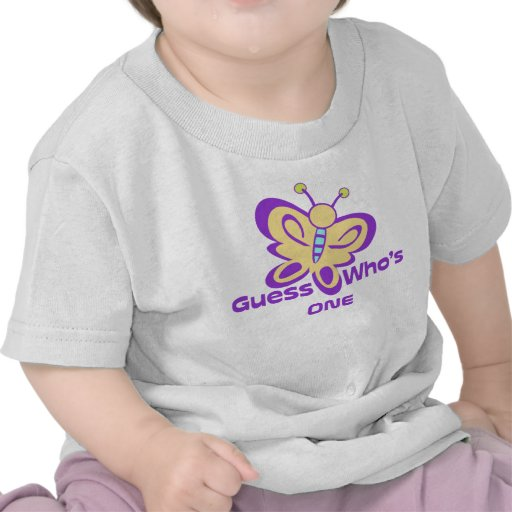 Butterfly Baby Birthday T Shirt