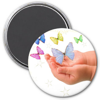 Butterfly Baby Magnet