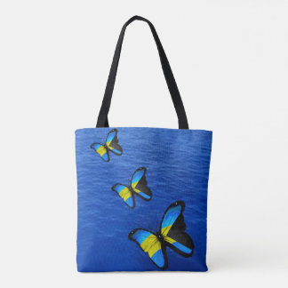 Butterfly Bahamian Tote Bag
