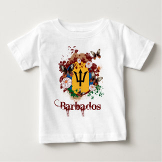 Butterfly Barbados Baby T-Shirt