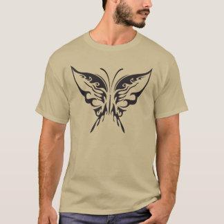 Butterfly Basic dark T-Shirt Dress