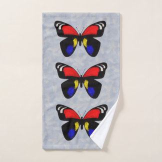 Butterfly Bath Towel Set