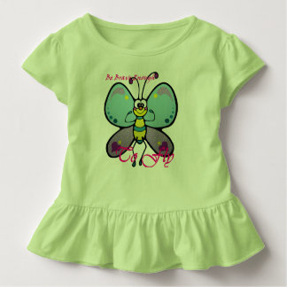 Butterfly be brave enough to fly frock toddler T-Shirt