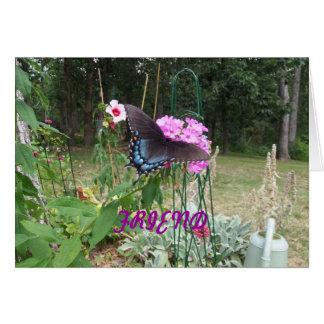 Butterfly, Beautiful Friend Card