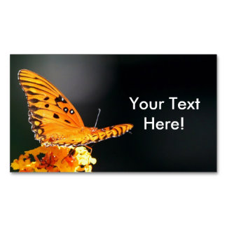 Butterfly Beauty Magnetic Business Card
