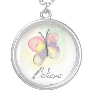Butterfly Believe Necklace